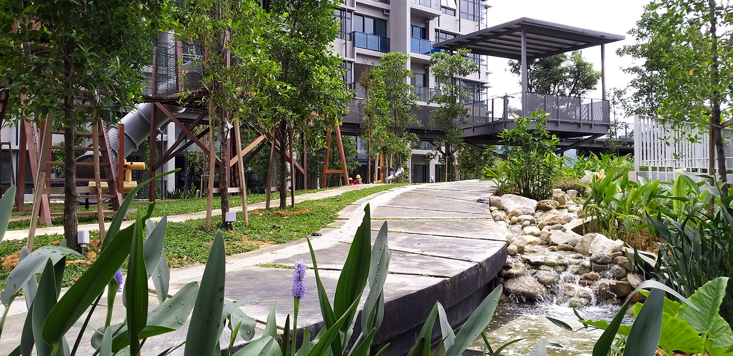 Bicycle & Jogging Track